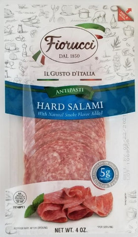 Hard Salami Sliced 4oz. Fiorucci ***ON SALE***