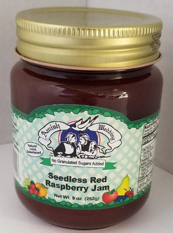 Raspberry Jam Seedless 9oz. Amish Wedding ***ON SALE***