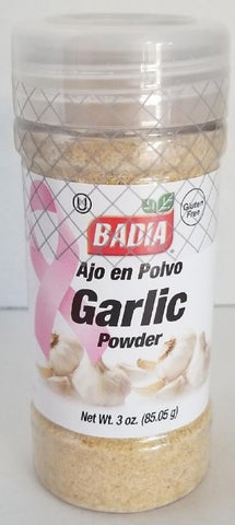 Garlic Powder 3oz. Badia