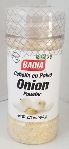 Onion Powder 2.75 oz. Badia