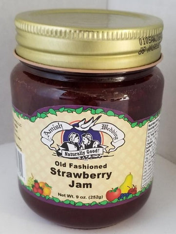 Strawberry Jam 9oz. Amish Wedding ***ON SALE***