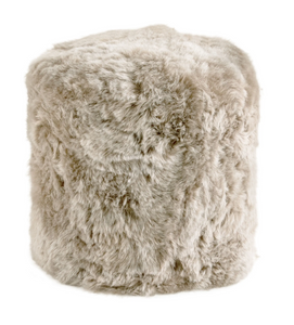 Stump pouf Taupe