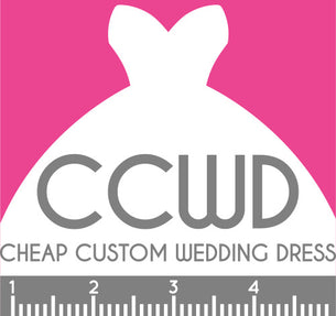 Cheap custom wedding dress