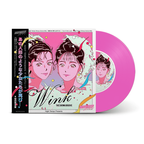 "Wink - Night Tempo presents The Showa Groove EP1 Limited Edition 7"" Vinyl (Pre-Order)"