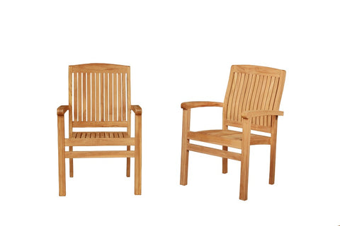 MARLEY STACKABLE CHAIRS X2