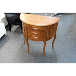 HALL TABLE (Solid Teak Wood -Three Drawers - Two Doors)