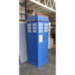 Dr. Who Police Display Cabinet (Tardis)