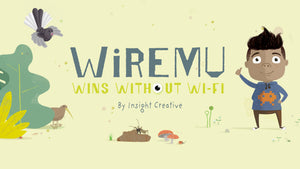 Wiremu Wins Without Wifi Multi-Media Book