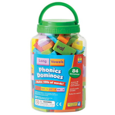 Phonics & Word Building Dominoes – Long Vowels
