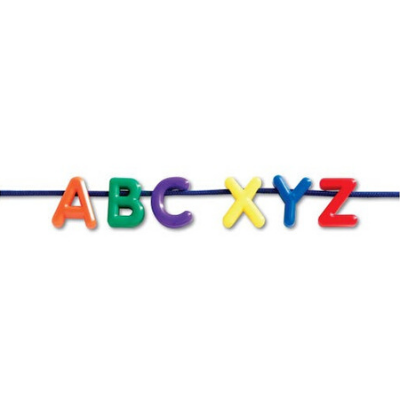 Uppercase Lacing Alphabet