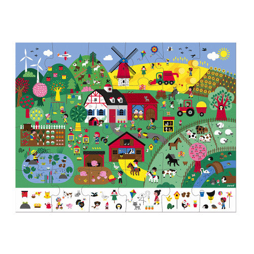 Observation Puzzle The Farm