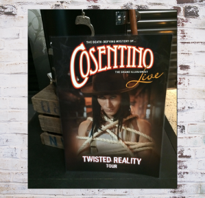 Autographed - Twisted Reality LIVE poster