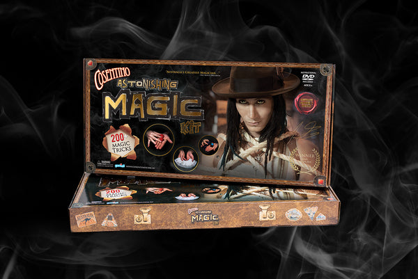 NEW Cosentino Astonishing Magic Kit 200 + tricks