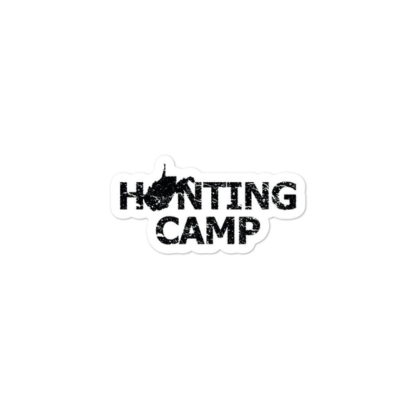 West Virginia Hunting Camp Sticker