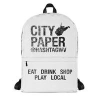 City Paper Laptop Backpack
