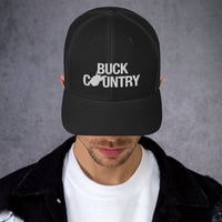 West Virginia Buck Country Trucker Hat