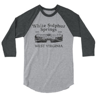 White Sulphur Springs 3/4 Sleeve Raglan Shirt