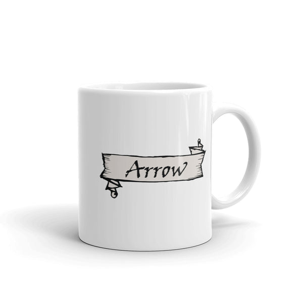 Modern Riddler Arrow Mug