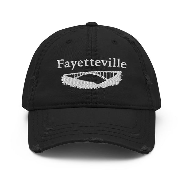 Fayetteville, West Virginia Distressed Hat