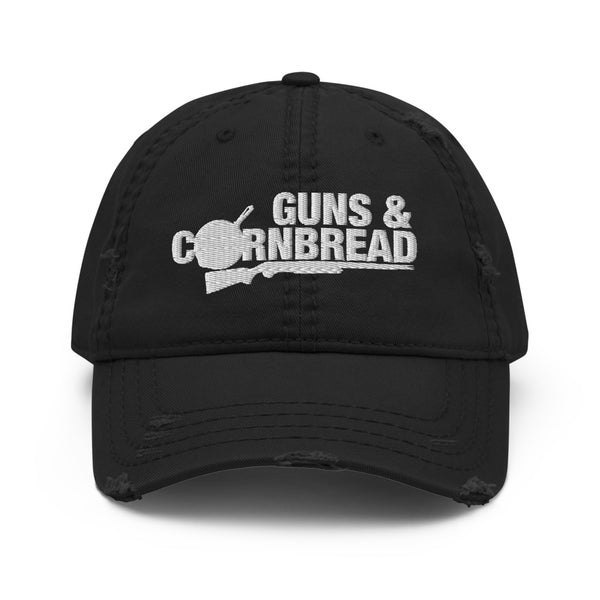 Guns.& Cornbread Distressed Hat