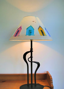 Beach Huts Lampshade