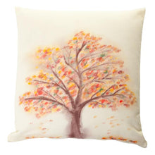 Load image into Gallery viewer, Autumn Tree Handpainted Cushion