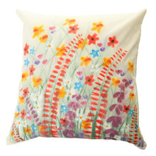 Load image into Gallery viewer, Wildflower Handpainted Cushion