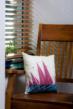 Load image into Gallery viewer, Red Sails Handpainted Cushion