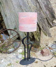 Load image into Gallery viewer, Marble Red Cylinder Lampshade