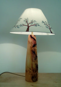 Mint Blossom Lampshade