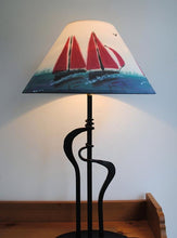 Load image into Gallery viewer, Red Sails Lampshade