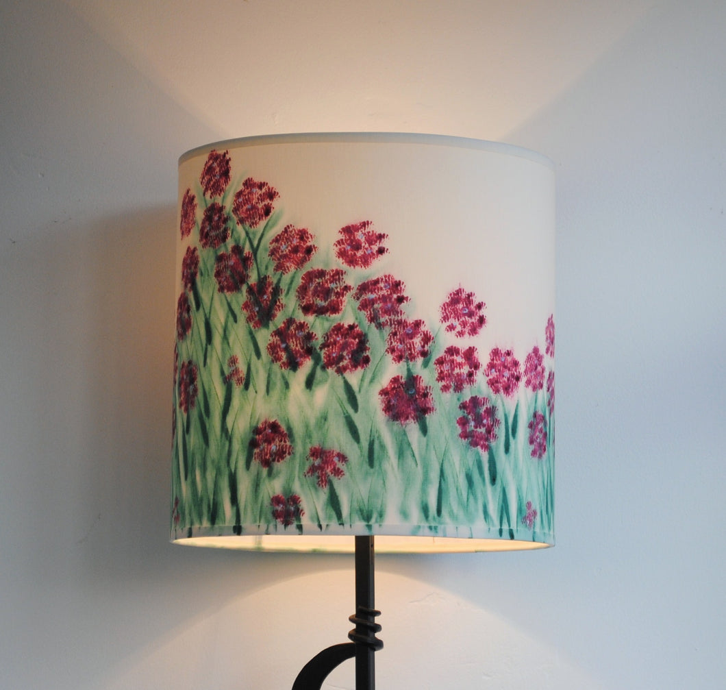 Rhododendron Cylinder Lampshade