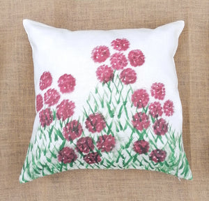 Rhododendron Linen Cushion