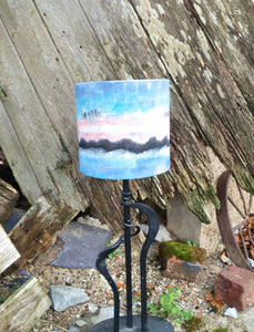 Scenic Cylinder Lampshade