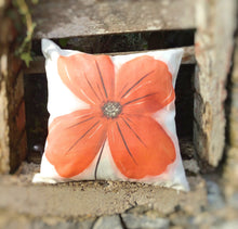 Load image into Gallery viewer, Poppy Linen Cushion