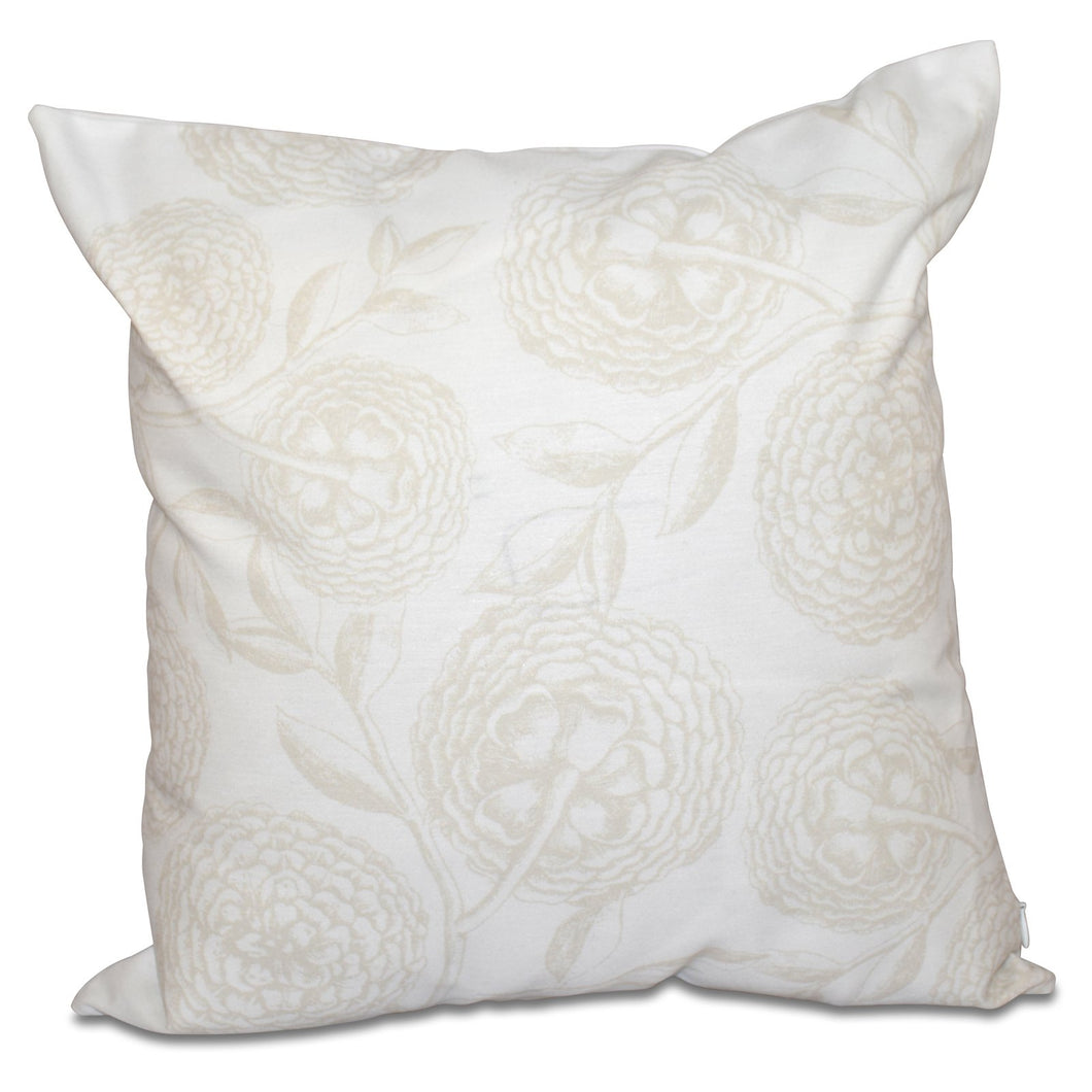 E by Design Botanical Blooms Antique Flowers Decorative Pillow (Set of 2) ss478