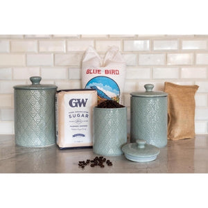 3 piece kitchen canister set #9017