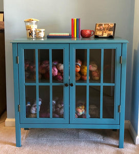 windham accent cabinet (TEAL) Dr208