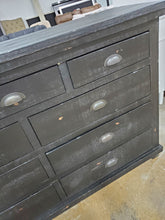Load image into Gallery viewer, Willow 9-Drawer Distressed Black Dresser