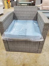 Load image into Gallery viewer, Rawtenstall Rattan Chair with Seat Cushion Only in Gray