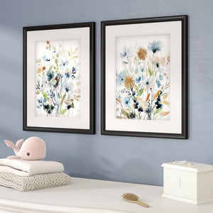 'Holland Spring Mix' - 2 Piece Picture Frame Painting Print Set on Paper 7455