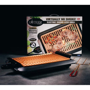 Gotham Steel Smokeless Electric Grill w/ Interchangeable Griddle #LX680