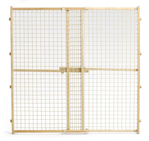 MidWest Wood/Wire Mesh Pet Gate #HA706