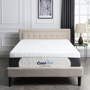 "Cool Gel Ultimate 14"" Plush Gel Memory Foam Mattress - Full (#K2382)"