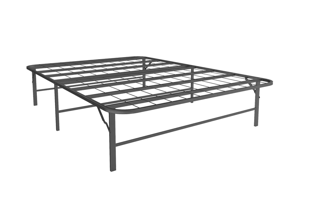 Metal Platform Bed Frame - Queen (#721)