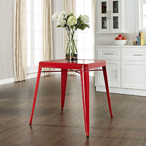 Mountview Cafe Dining Table, Red (#K2533)