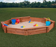 Load image into Gallery viewer, 6.5' Octagon Sandbox with Cover (#906)