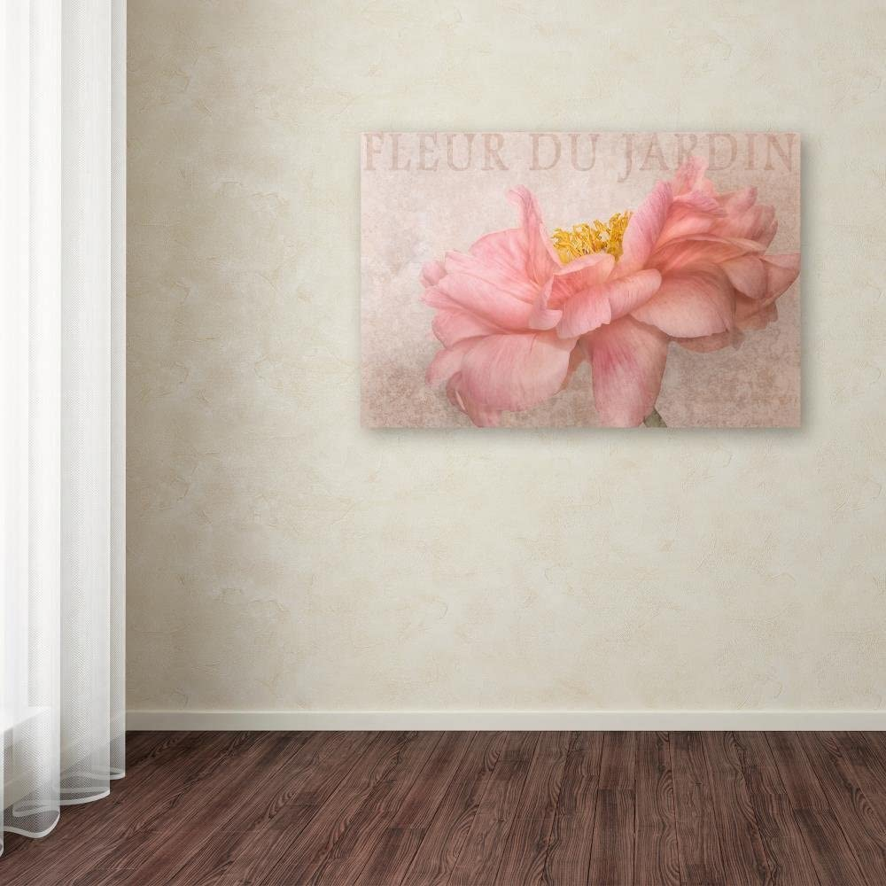 Garden Flower by Cora Niele Wall Art on Wrapped Canvas - 30