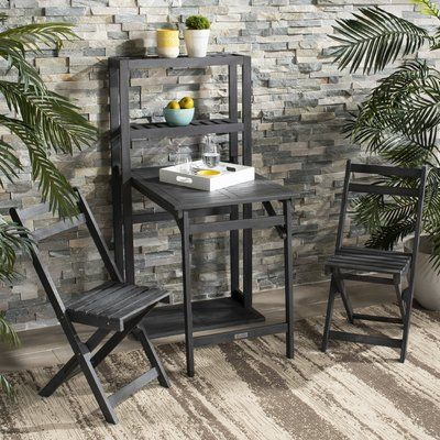 Dayse 3 Piece Bistro Set 2273