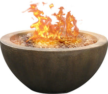Load image into Gallery viewer, Mondavi Stone Propane Fire  Pit EJ406